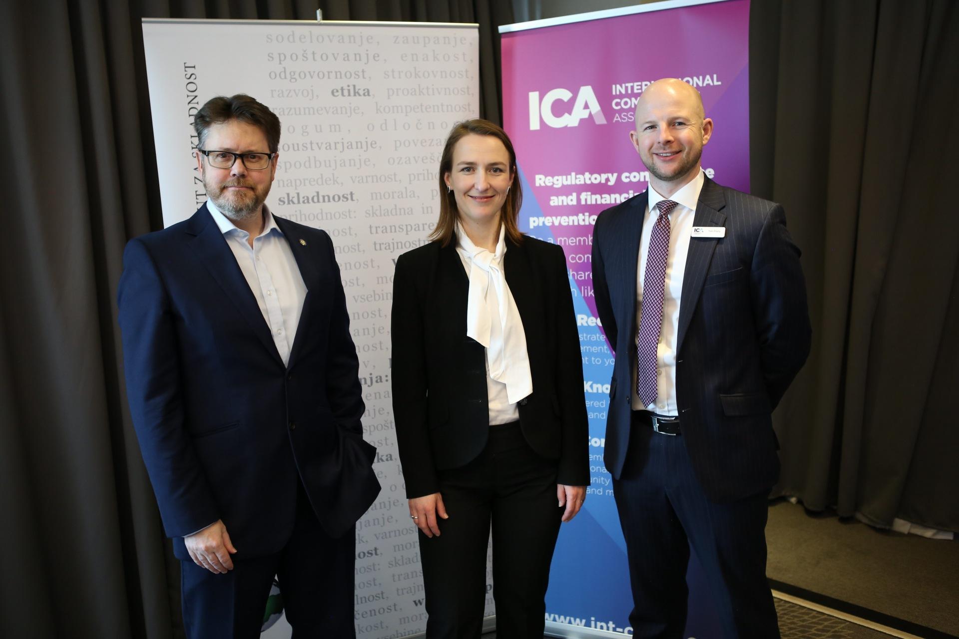 Strateško partnerstvo z ICA International Compliance Association