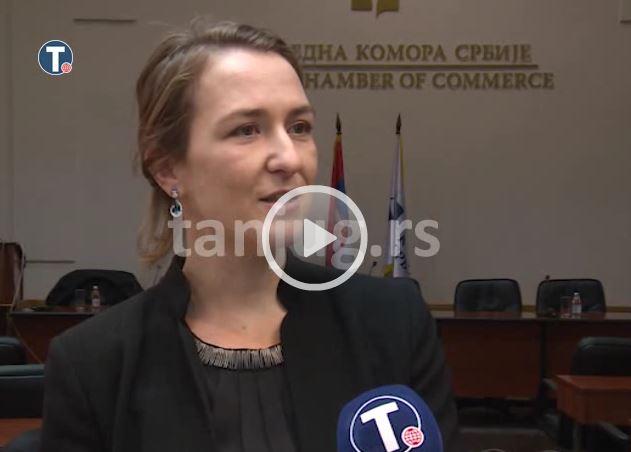 Poročanje Tanjuga o našem obisku v Beogradu